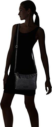 Tamaris - Matilda, Borse a tracolla Donna Nero (Black Comb.)