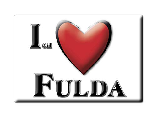 Enjoymagnets fulda calamita magnete germania fridge magnet souvenir i love (var. normal)