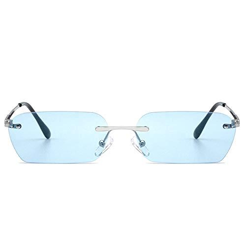 @Y.T Männer und Frauen Sonnenbrillen Schnittkante Sonnenbrille Marine Objektiv vielseitige Sonnenbrille Rap Sonnenbrille,D