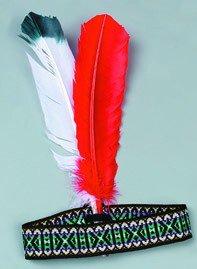 Indianer Kostüm Tomahawk - Indianer-Kostüm: Stirnband mit Federn
