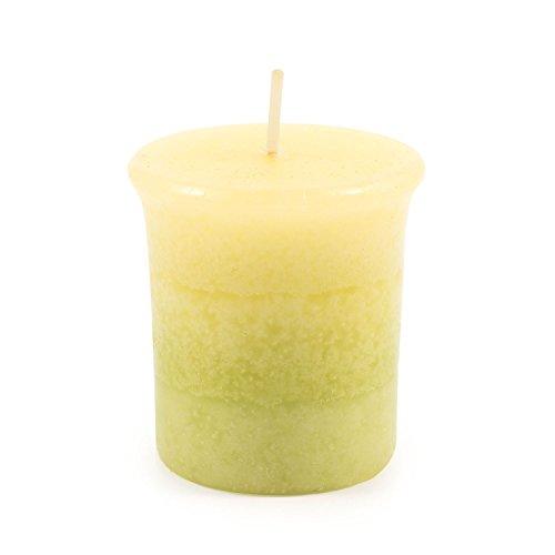 pajoma Votivkerze ''Lemongras'' marmorierte Duftkerze, Brenndauer: circa 17 Stunden