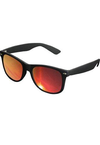 Di alta qualità a specchio occhiali da sole da uomo Likoma Mirror con finitura in gomma nero taglia unica