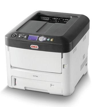 Oki Color Drucker (OKI C712dn Color Drucker A4 duplex netzwerkfähig)