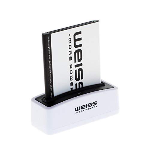 Weiss More Power - Batería para Samsung Galaxy S3 Mini GT-I8190 / Ace 2  (GT-I8160 / GT-I8160P) / S Duos (GT-S7562 / GT-S7560) (1500 mAh,  Equivalente a