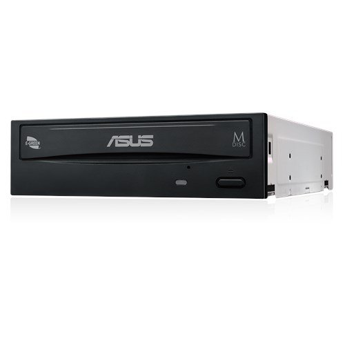 Blue-ray Laufwerk Optisches (Asus DRW-24D5MT interner 24x DVD Brenner (DVD+-RW, Retail E-Green Silent) schwarz)