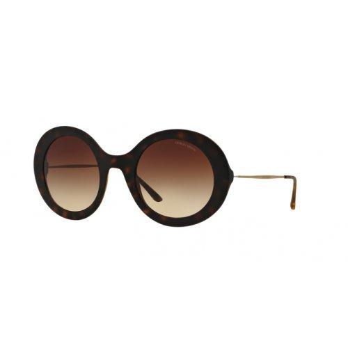Giorgio Armani Unisex AR8068 Sonnenbrille, Braun (Havana 508913), One size (Herstellergröße: 51)