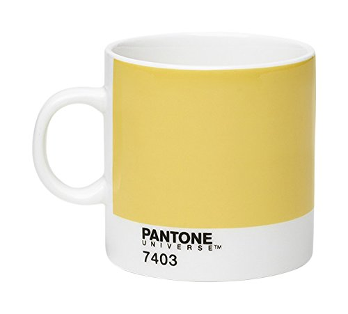 Pantone P10104001 Tasse à Expresso Porcelaine Jaune Clair