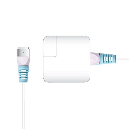 TUDIA Klip Snap On Cable de Protector para Apple MagSafe 2 (for MacBook Pro with Retina display) (Azul)
