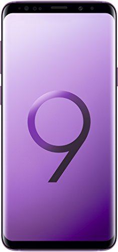 Samsung Galaxy S9+ Smartphone (6,2 Zoll Touch-Display, 64GB interner Speicher, Android, Single SIM) Lilac Purple - Italienische Version -