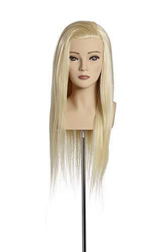 Übungskopf Elena 50 cm lichtblond Limage - Wettbewerb Mannequin