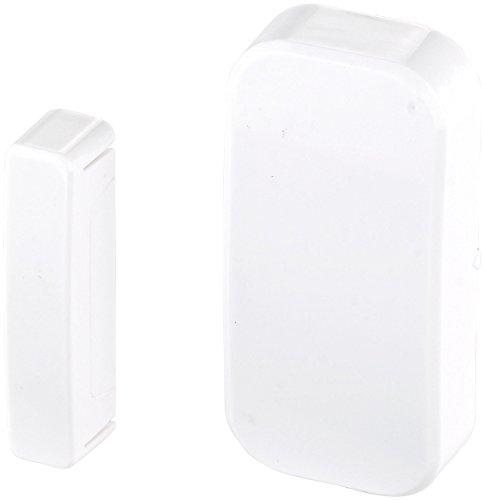 VisorTech Zubehör zu GSM Funk Alarmanlagen: Funk-Tür- und Fenster-Sensor für Alarmanlage XMD-4400.pro & -5400.wifi (Kabellose Alarmanlage)