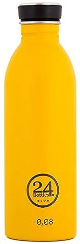 24Bottles UrbanDrinking Bottle 500ml–Assorted Colours/Designs Multi-Coloured Safari Khaki