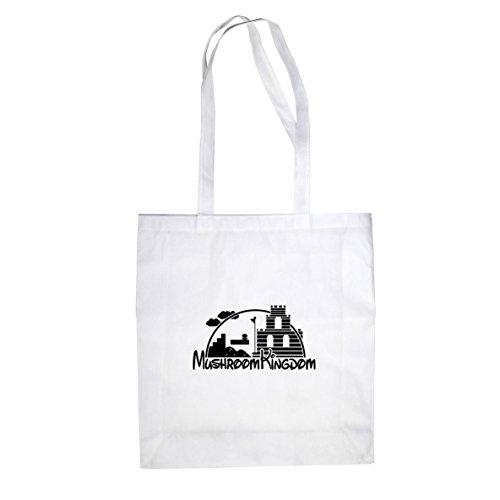 Mushroom Castle - Stofftasche / Beutel Weiß