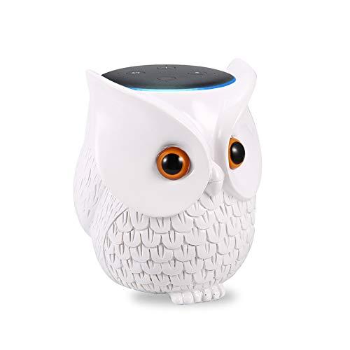 LinTimes Tischhalterung Ständer für Dot (3. Gen.), Dot Zubehör, Halterung Ständer für Intelligenten Lautsprecher - Weiß