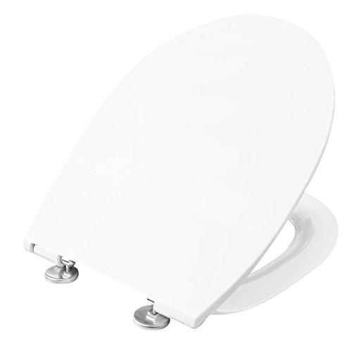 Cornat WC-Sitz PREMIUM 5 weiß / Toilettensitz / Toilettendeckel / Klodeckel / WC-Deckel / Absenkautomatik / Duroplast / KSPREMSC500