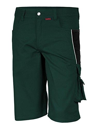 Qualitex PRO Shorts MG245 - Grün/Schwarz - Größe: 52