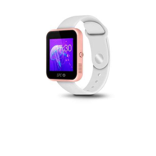 """SPC Smartee Slim - Reloj inteligente con Bluetooth (3"""") color blanco"""