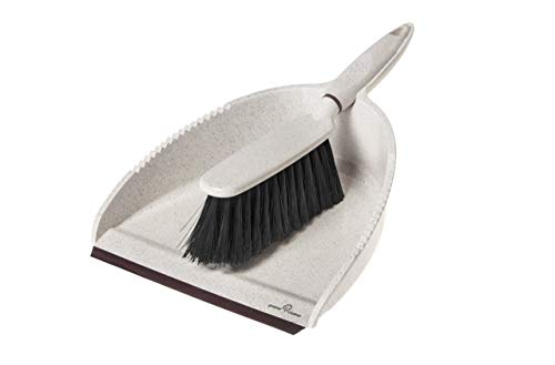 Greener Cleaner GCB008 Dustpan & Bürste, Cream -