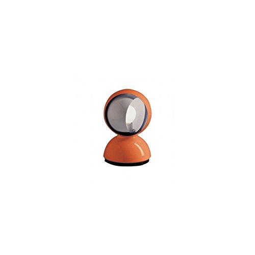 ARTEMIDE 0028050A Lampada da Tavolo Eclisse, Metallo verniciato, Arancione