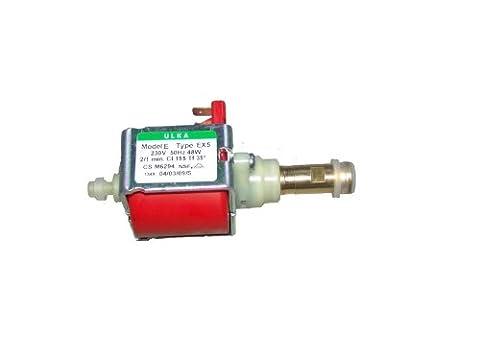 Universal ULKA EX5 Pompe en plastique avec raccordement et plaque de fixation 48 W