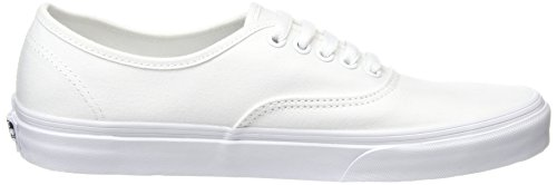 Vans Unisex-Erwachsene Authentic Sneakers Blanc - True White