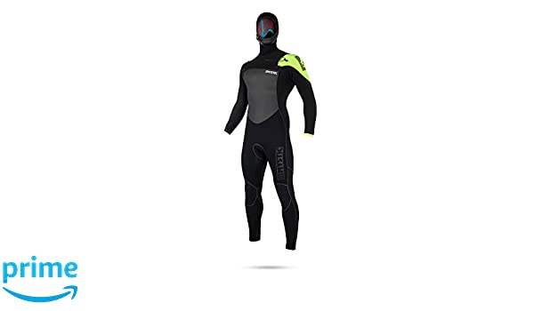 Power seamed outside Easy Stretch /& Lightweight Quick Dry Mystic Legend 5//3MM Chest Zip Wetsuit Black Lime