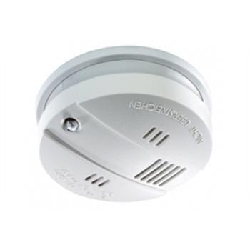 Rauchwarnmelder FlammEXprofi K-SD4 - vernetzbar mit 9V Lithium-Batterie Warnmelder Rauchmelder