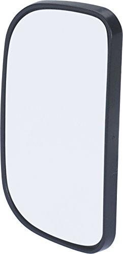 hr-imotion kompakter Toter-Winkel-Spiegel (Fahrschuhlspiegel) zur Befestigung am Außenspiegel [Selbstklebend | sekundenschnelle Montage] - 10410201