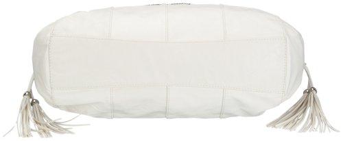 Betty Barclay Zip E-186 AU Damen Henkeltasche, 39x14x27 cm (B x H x T) Weiß