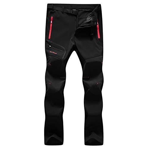 7VSTOHS Pantalones Senderismo Hombres Transpirable