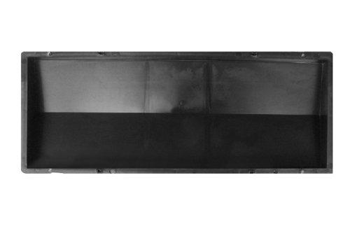 @tec Betonform Schalungsform Polypropylen - Mauerabdeckung/Abdeckplatte GLATT - 50 x 18 x 4 cm