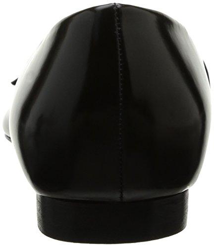 Buffalo 11646-263 Star Glace, Ballerines femme Noir (01 Negro)