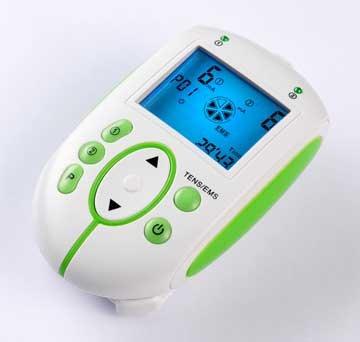 Gima - Máquina de TENS, inteligente, con pantalla amplia, para fisioterapia y dolores musculares