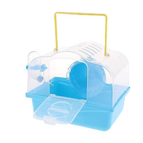 Unbekannt Tragbare Haustier-Tragetasche für Hamster, mit Wasserflasche, für unterwegs