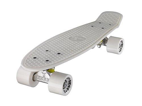 """Ridge Retro Cruiser 22"""" - Skateboard, color rojo/naranja, 58 cm"""