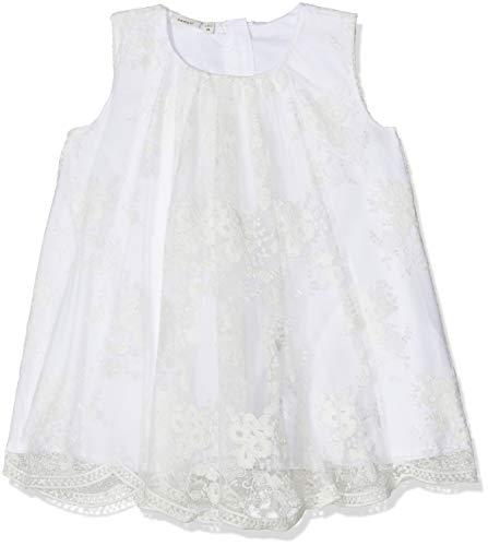 festmode baby NAME IT Baby-Mädchen Kleid NBFSILLE Spencer, Weiß Bright White, 68