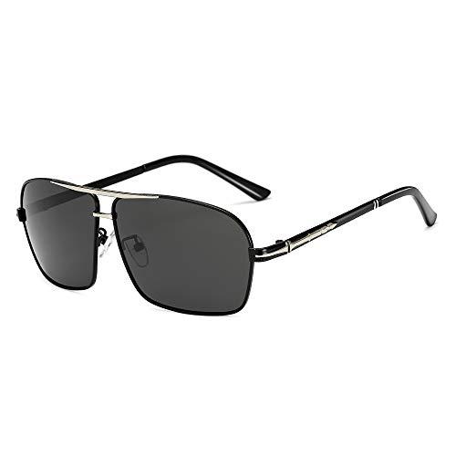 YJIU Sonnenbrille Men Square Sonnenbrillen Polarisierte Sonnenbrillen Sonnenbrillen Großhandel Driver Driving Color Film Blue Square Sonnenbrillen (Color : 1)