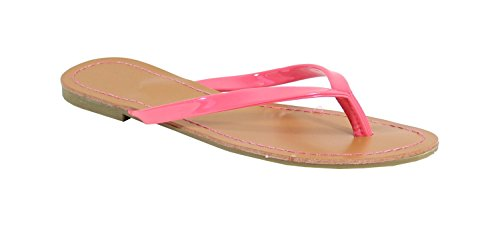 By Shoes , Damen Sandalen Fuchsia