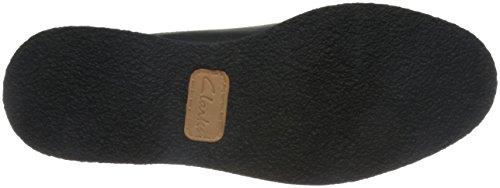 Clarks Zante Zara, Brogue Donna Nero (Black Leather)