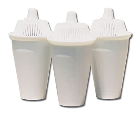 Wellness Water Filters - Replacement Carafe Cartridges (Pack of 3)