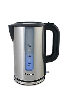 Suntec Wellness Bouilloire électrique 1,5 L 3100 W