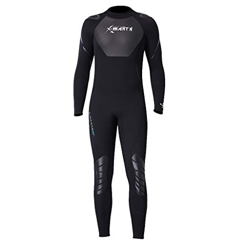 ODRD Unisex Neoprenanzug, Keep Warm Sunscreen Swimming And Snorkeling Diving Coverall Suit, Stretch Swimsuit Jumpsuit Diving Steamer Swimwear Schnorchel-Sets Tauch-Sets Tauchanzüge Surfboards M~2XL