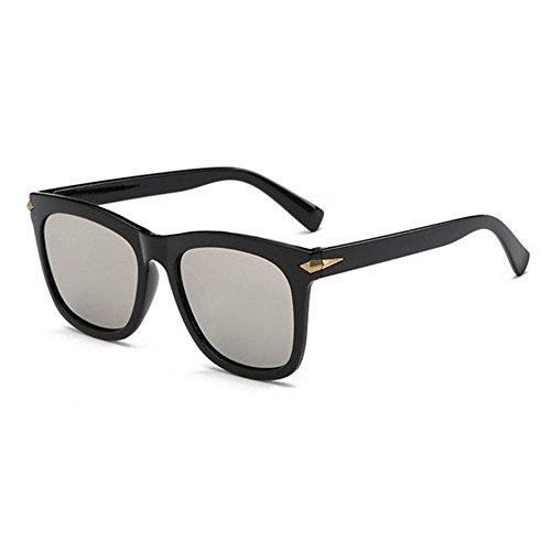 Biutefang occhiali da sole da uomo donna colore pellicola signora brillante colore riflettente occhiali da sole occhiali da sole moda occhiali da sole