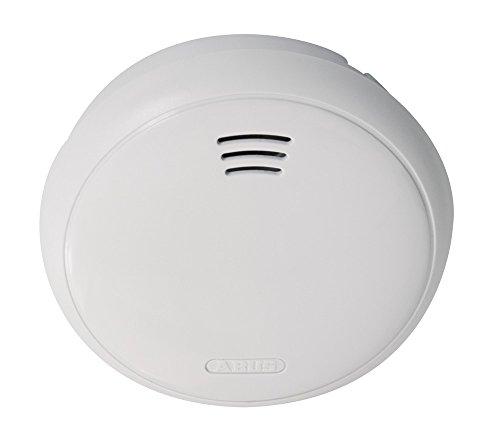 ABUS 251365 GRWM30500 Surveillance Alarm Smoke Detector, 3 V, weiß Surveillance Detector