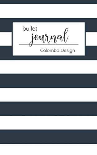 Bullet Journal: Colombo Business Dot Grid Notebook & Bullet Journal | Softcover, 120 Dotted Pages, 5x8