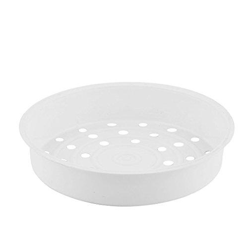 sourcingmap Küche Elektroherd Kunststoff Runde Essen Brot Kochen Dampfgarer Rack