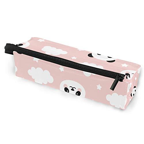 Sonnenbrille Fall Stift Federmäppchen schöne süße Panda Wolken Sterne Schreibwaren Beutel Aufbewahrungsbox Kosmetiktaschen Brillen Tasche mit Aufhängeöse
