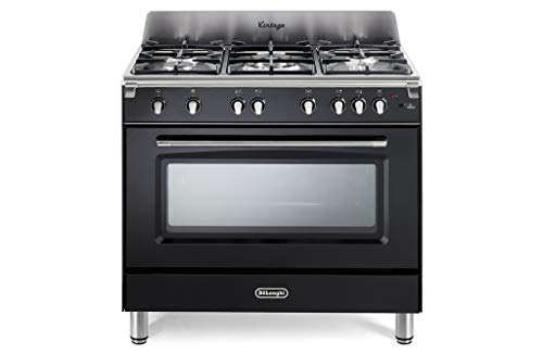 Cuisine à Gaz 5 brûleurs four à gaz ventilé 90 x 60 cm – inoxydable – Photos – indicatif