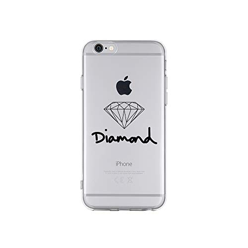 licaso Apple iPhone 6 Handyhülle Smartphone Apple Case aus TPU mit Diamond Jewel Print Motiv Slim Design Transparent Cover Schutz Hülle Protector Soft Aufdruck Lustig Funny Druck (Verlobungsring Protector)