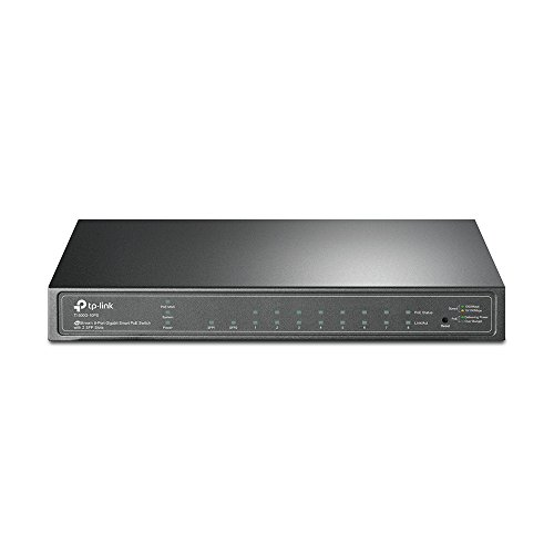 T1500G-10PS(TL-SG2210P) TP-Link T1500G-10PS(TL-SG2210P) JetStream-8-Port-Gigabit-Smart-PoE-Switch mit 2 SFP-Slots